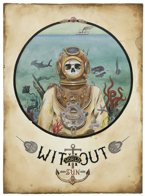 fer1972:  World Without Sun by Derek Nobbs