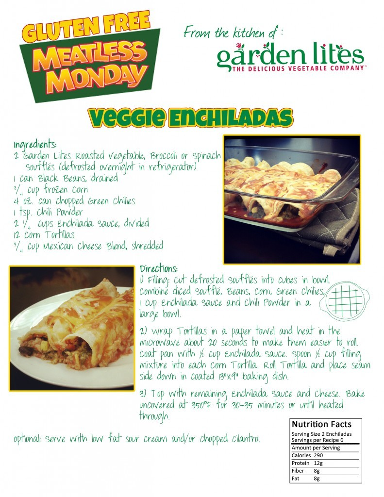 Garden Lites is sharing weekly gluten free Meatless Monday recipes in May for Celiac Awareness Month! (via Recipes | Garden Lites)