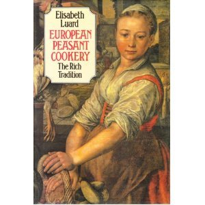European Peasant Cookery/ Elisabeth Laurd/Corgi books, 1986 What a treasure David found from a flea market! It has many nice (simple but healthy) peasant recipes from all over the Europe. The introduction has an interesting discussion about changing food culture (well, I cannot say it's current food culture since this book is from the 80s but it is actually current food culture because we still share the same concern…) ——— p.13 'I shall call peasants those who have, at the least, this in common: their agriculture is a livelihood and a way of life, not a business for profit' - Dr.Redfield, Peasant Society and Culture (University of Chicago Press, 1956) p.15 All those who have had first-hand experience of peasant existence hark back to the fundamental issue-survival. In the peasant world, the work is perpetual and the living is hard. Yet most insist that the way of life has its own rewards in the satisfaction of tasks well completed, of responsibilities to the land property discharged. The earth must be husbanded, coaxed, and cared for, it cannot be exploited or it will swift revenge. The old peasant kitchen habits of frugality were part of that husbandry-making stock out of bones, pickling and salting in times of glut, stocking the larder, using diet to care for the sick and the elderly, making good food out of few and simple ingredients. p. 16 In poor communities which could not afford doctors, good health was clearly essential to survival, and country - dwellers became extremely knowledgeable about the adjustments in diet necessary for those who were ill or to combat seasonal maladies…If any one phrase can summarize peasant cuisine is precisely that - good health.