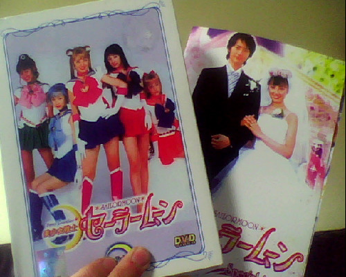 These came in the post for me today 8D ! I've not watched all the Acts yet but I do love the show~Wish people would give it a bit more of a chance =D