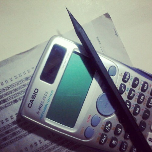 My black pencil (Taken with instagram)