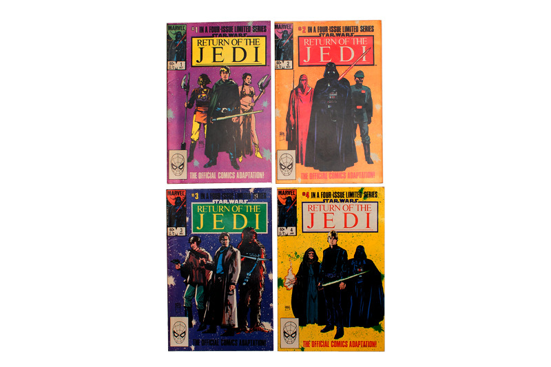 From my collection, Marvel Return of the Jedi 1-4.