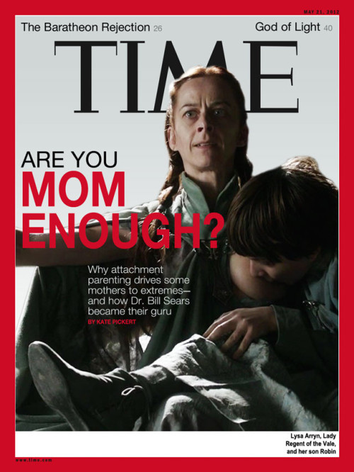 funnyordie:  Time Magazine's Alternate Breastfeeding Cover Not sure why they didn't go with this one.