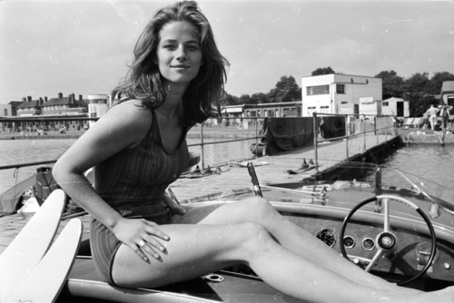 "Your Morning Shot: Charlotte Rampling ""If words don't have vibration behind them, and a real feeling behind them, then they're just words."" - Charlotte Rampling"