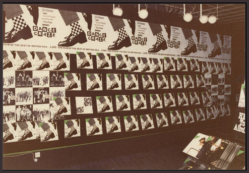 Dance Craze album display HMV Oxford Street 1981