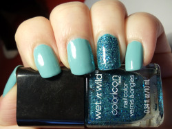 katomitsuko:  China Glaze For Audrey and Wet n Wild Cost is no Issue