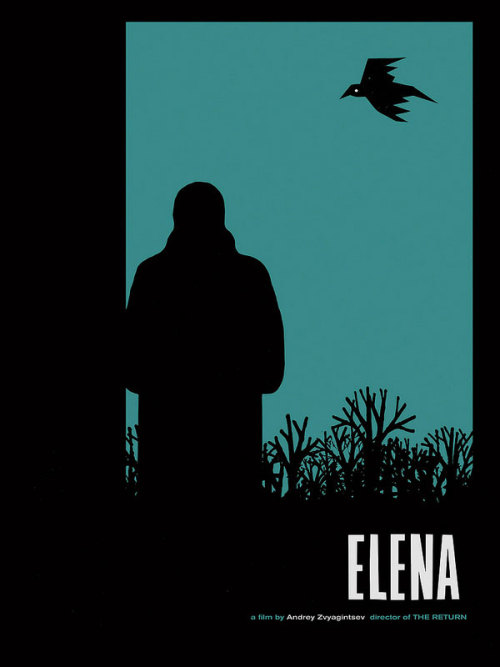 movieposteroftheday:  Limited edition screenprint poster for ELENA (Andrey Zvyagintsev, Russia, 2011) Designer: Sam Smith Poster source: Sam's Myth Read all about the design process for this poster and see designer Sam Smith's 10 favorite movie posters of all-time at Movie Poster of the Week on Mubi.com.