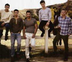 Josh Truesdell, Tyler Lough, Aaron O'Connell, Charlie Scheerer and Anthony Baldwin by Chiun Kai Shih