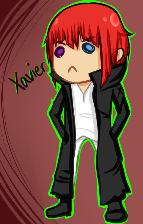 signedwithanecks:  This is Xavier, and he belongs to Tea-Chan aka Teabag aka Lily. Uh;; I'm really sorry for totally destroying him, he was the only character of yours I could find on your Tumblr; I'm really sorry XDBut yeah - I wanted to do something for Tea because she's so damned nice to me all the time ;///;   Ohmigod what? No seriously what? Omg ECKS!!! Ah I love you QAQ omgomgomg  Aww thanks so much. Seriously this means soo much to me ;3;  All of the feels.
