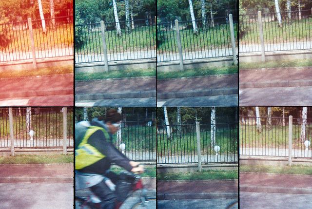 Bike Ride on Flickr.L'Etang la Ville, France. Taken with Oktomat - Lomography. © Bree Sage http://seebreebefree.wordpress.com
