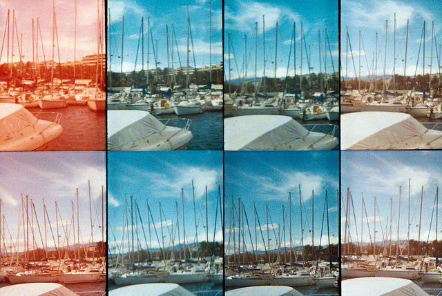 Boats boats boats on Flickr.Southern France. Taken with Oktomat - Lomography. © Bree Sage http://seebreebefree.wordpress.com