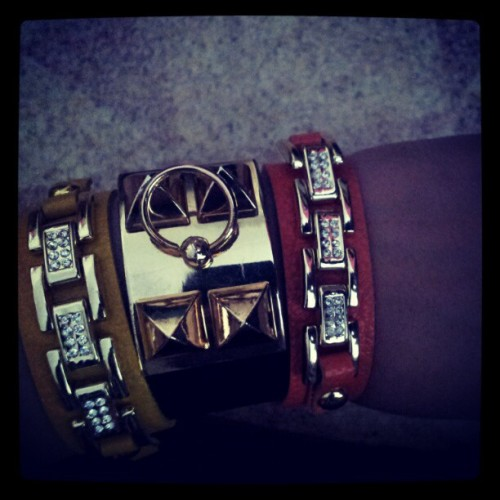 #bracelet #leather #hermes  (Taken with instagram)