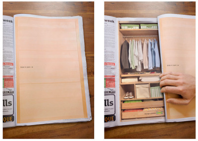 helloyoucreatives:  IKEA Closets Print Ad