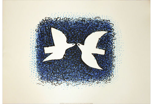 George Braque, Couple D'Oiseaux Birds of a feather, flock together. Here's to 15 years on the roost sweetie!  Blondy