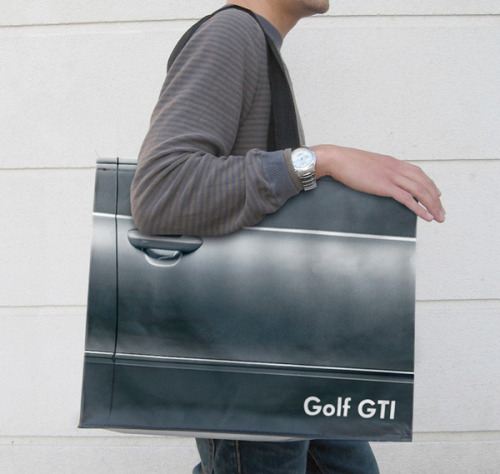 Volkswagen Golf Shopping Bag