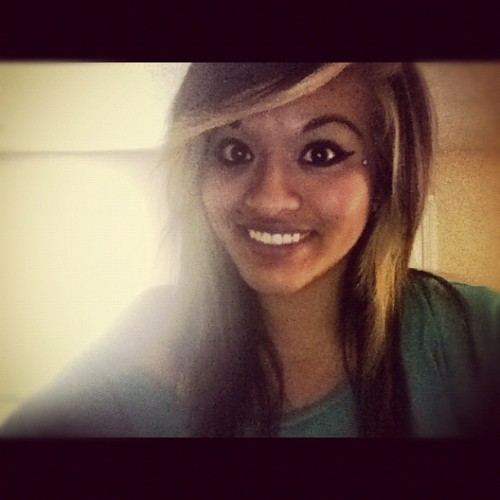OhhDreaa #instagramhub #smile #girl #hair #piercings  (Taken with instagram)
