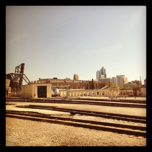 Continental Paper Grading. Chicago. (Taken with instagram)