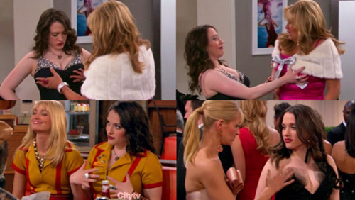 Oh, 2 Broke Girls, I will miss you and all of your gratuitous boob grabbing this summer. I really, really will.