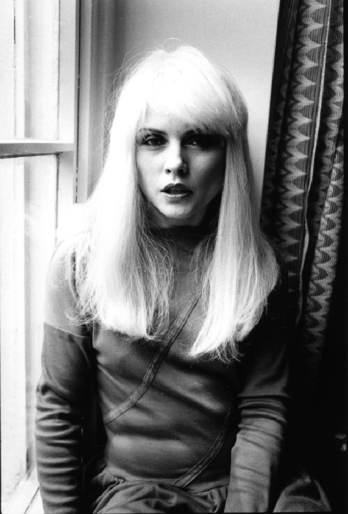 Debbie Harry at the Ritz in London 1981 photographed by Janette Beckman
