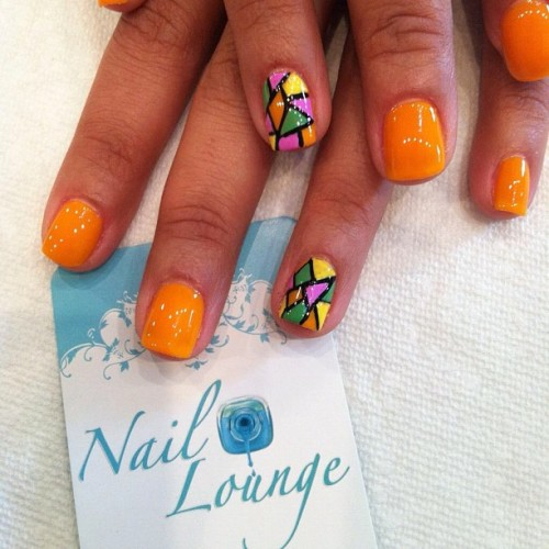 Nails Done By Monica! #naillounge #nailart #manicure #polish #nailaddicts (Taken with Instagram at Nail Lounge)