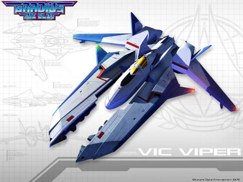 Vic Viper from Gradius: The Slot.