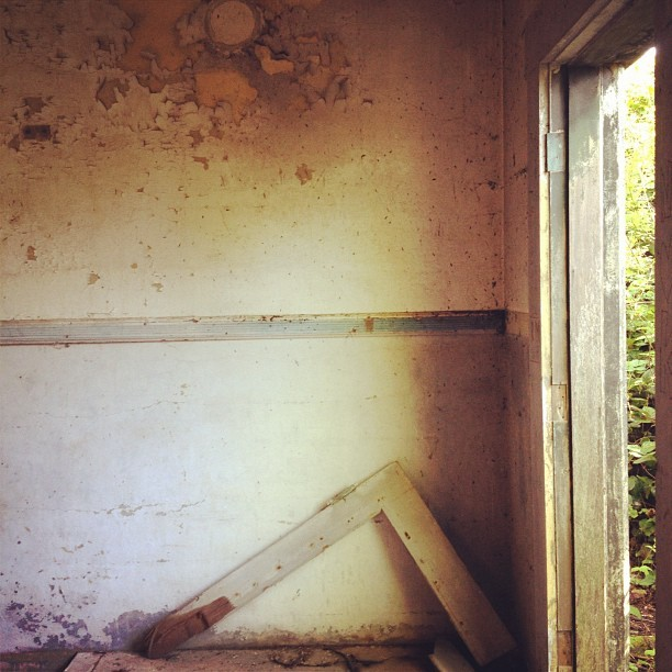 Lead paint and asbestos.  (Taken with instagram)