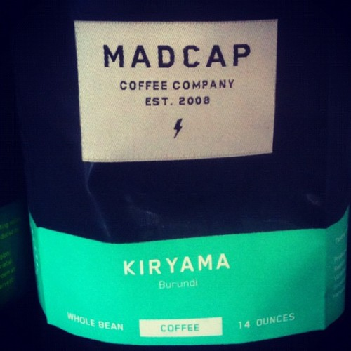 Today's #espresso throw down winner: #MadCap #Kiryama ~ Highly reco it ~ #coffee #CoffeeIsMyCrack  (Taken with Instagram at Houndstooth Coffee)