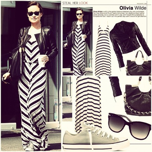 Check out our latest Steal Her Look post on Olivia Wilde's casual-cool maxi look. #fashion #oliviawilde http://www.tresdope.com/2012/05/11/steal-her-look-olivia-wilde/