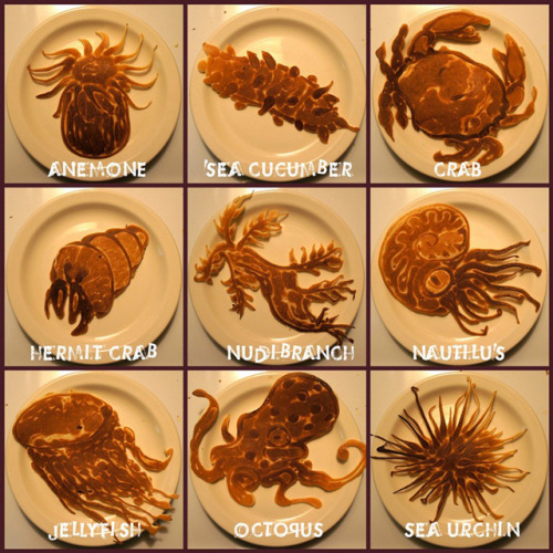 laughingsquid:  Saipancakes, Dad Creates Amazing Pancake Sculptures For His Kids