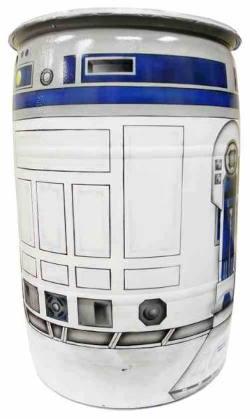 Rain Barrel That Looks Like R2D2
