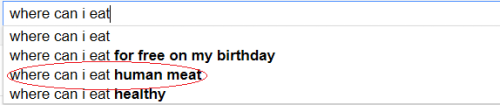Wow. Google sure is a cannibal.