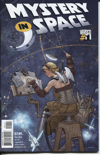 One of the best anthologies in recent memory. Vertigo's new Mystery in Space anthology is so much more than a loose collection of stories.  Several of these unconnected tales boggle the mind, break the laws of physics, and challenge humanity's concept of reality.  Over the course of more than 70 consistently gorgeous pages, Duane Swierczynski, Michael Allred, Andy Diggle, and many more tell their own short stories that will satisfy fans of both science fiction and quality storytelling.  Read the full review at http://www.brokenfrontier.com/reviews/p/detail/mystery-in-space-3