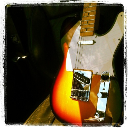 Hehe I've always wanted a Tele and now its mineeeeeeee (Taken with instagram)