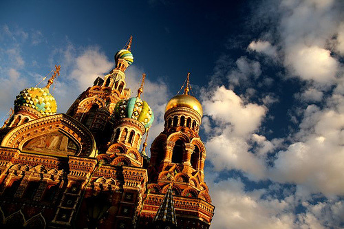 allthingseurope:  Church of the Saviour on the Spilled Blood in St Petersburg, Russia (by nicointhebus (nicolas monnot))