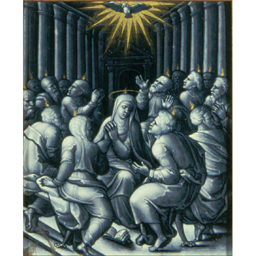 Pentecostc.1550 Pierre Reymond  French, 1513–1584 Saint Louis Art Museum