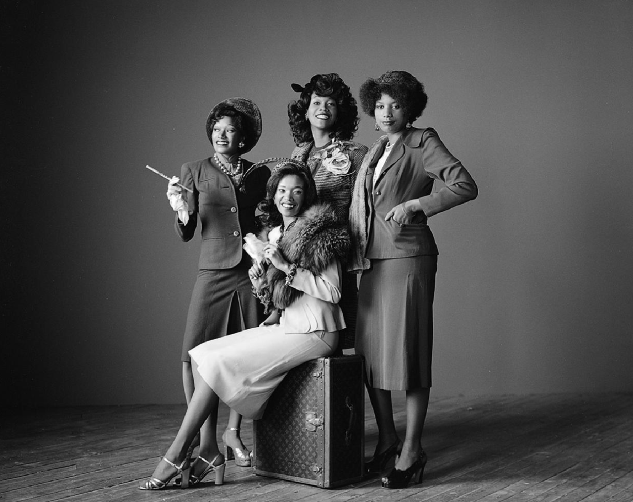 Pointer Sisters photographed by Herb Greene