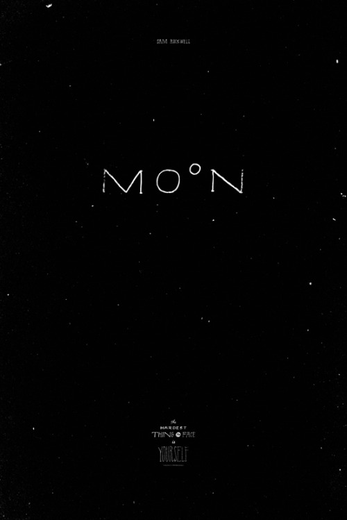 Jon Contino's Moon poster for All City's Retyped exhibition.via themadeshop.