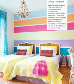 justinetaylor:   Design by Emily Norris featured in House & Home (via Marcus Design)