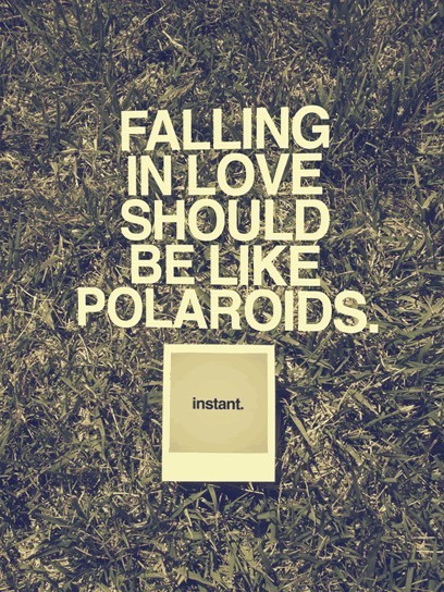Falling love should be like…