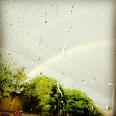 Wheres the pot of gold? #rainbow #rain #drop #leeds #beautiful #amazing #colou#instagood #instagreat #jj_forums #instagramdaily #instafamous #igers #ipopyou  #iphonesia #webstagram #instagramers  #ahahahaCheah #igdaily #instagold #instamood #photooftheday #ignation #igaddict #primeshots #instagram_masters #instagram_underdogs r  (Taken with Instagram at Leeds, West Yorkshire )