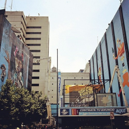 #herakut and #interesikazki #mexicocity #allcitycanvas  (Taken with instagram)
