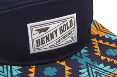 Navy 5panel camp hat
