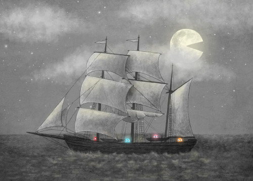 'Ghost Ship' by Terry Fan Love these…