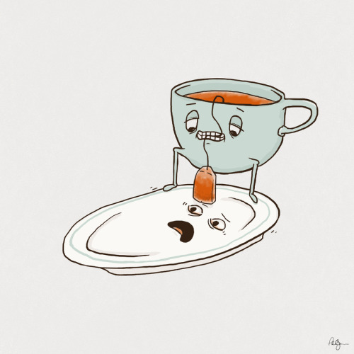 urhajos:  'Tea Baggin'' by Phil Jones