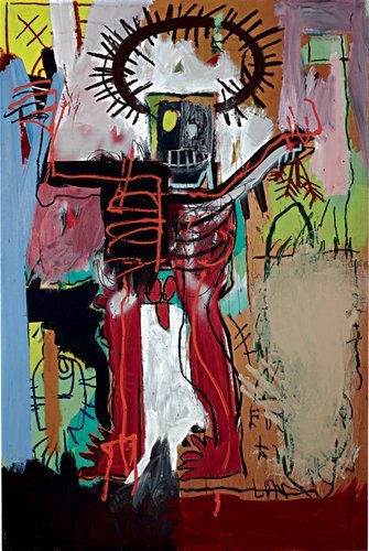 scienceofsleepers:  16.3 Million. Untitled (1981)- Jean-Michel Basquiat