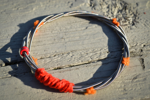 recycledhopejewelry:  Made from previously played bass strings, this bracelet shows both a passion for music and the environment.With each purchase help fight HIV/AIDS and provide clean drinking water to those struggling in Africa. 10% of each purchase will be donated to Blood:Water Mission. https://www.etsy.com/listing/99616674/recycled-bass-string-bracelet Check us out: http://www.etsy.com/shop/recycledHope http://pinterest.com/recycledhope/ http://www.facebook.com/pages/Recycled-Hope/173218366096294