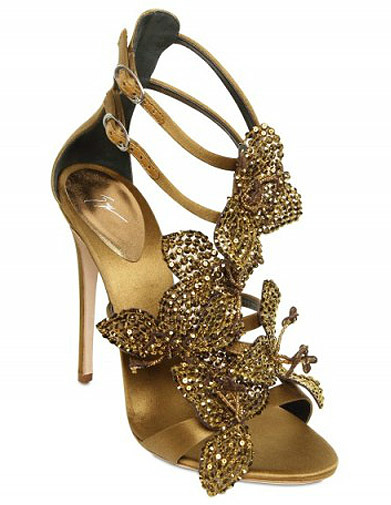 Ah Its like Bling for your feet by Guiseppe zanotti.