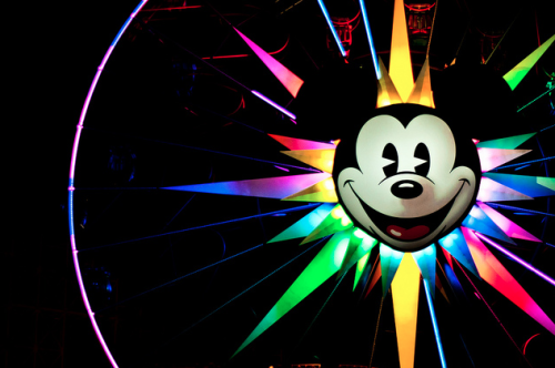 dashofdisney:  Colorful Mickey