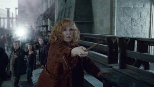 With good reason, most Harry Potter fans adore Lily Potter, who sacrificed her life to save baby Harry from Voldemort's Killing Curse. But Molly Weasley also deserves credit for being an awesome mum to seven precocious gingers. On top of raising her own wizards and witches, she dotes on Ron's two best friends, Harry and Hermione, who each have to learn their way around the wizarding world. And Molly isn't just quick with the cooking spells — when it comes to her children, she can unleash her inner warrior (take that, Bellatrix LeStrange).  Molly Weasley & the movie moms we can learn from