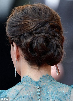 Kate Middleton hairstyle - Richard Ward